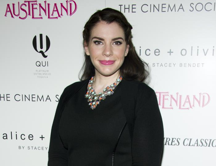 "Stephenie Meyer attends a screening of Sony PIctures Classics' ""Austenland"" on Aug. 12, 2013 in New York."