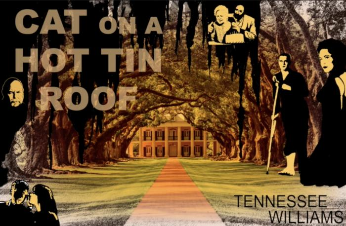 The Psych Drama Company presents a full-length audio production of Tennessee Williams' 'Cat on a Hot Tin Roof'